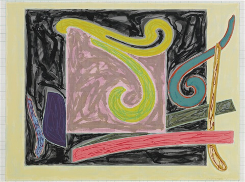Steller's Albatross by Frank Stella at
