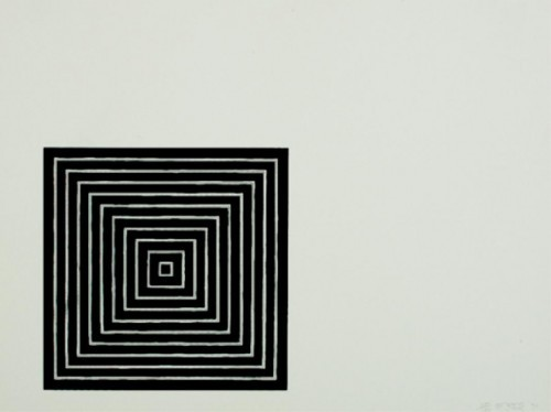 Untitled by Frank Stella at