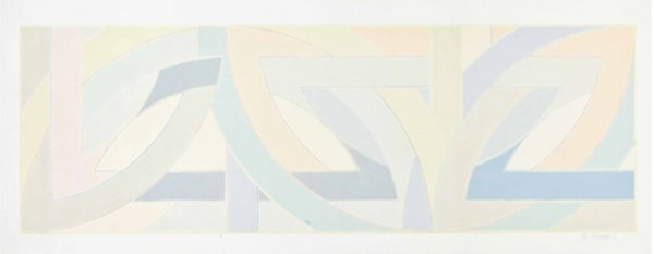York Factory I by Frank Stella at