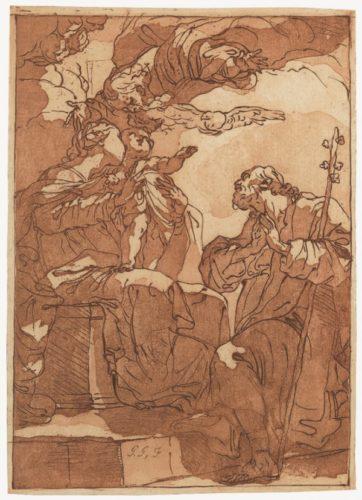 La Sacra Famiglia by Gaetano Gandolfi