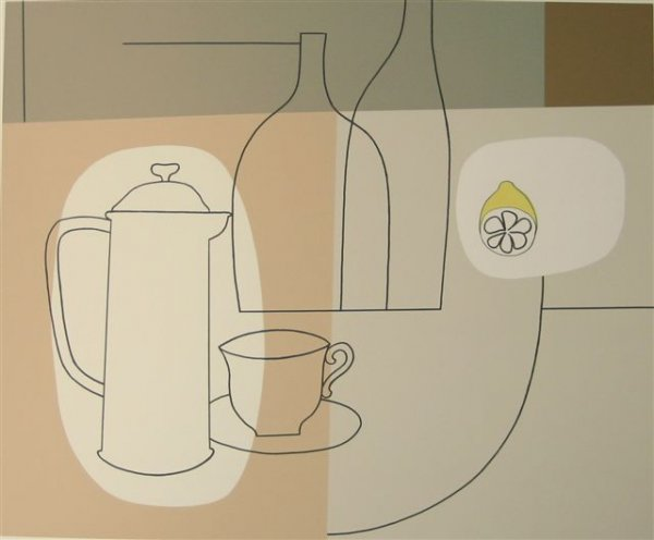 On A Kitchen Table by Geoffrey Robinson