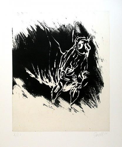 Der Erste Mai by Georg Baselitz