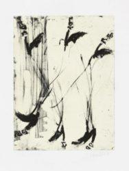 Sono Sei Piedi by Georg Baselitz at Kunzt