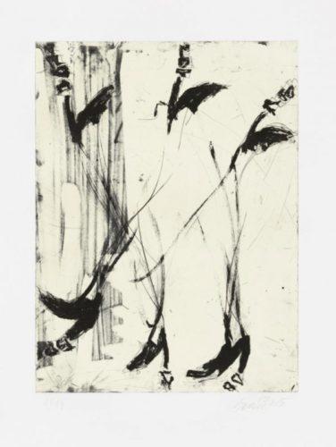 Sono Sei Piedi by Georg Baselitz at