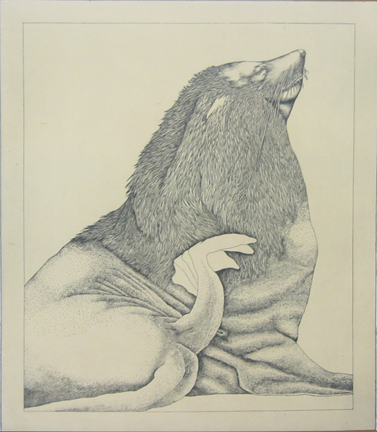 Untitled (sea Lion) by George Whitman at