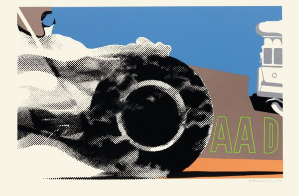 Aad by Gerald Laing at