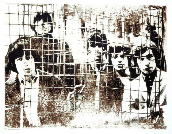 The Rolling Stoned, Caged by Gered Mankowitz at RedHouse Originals Gallery