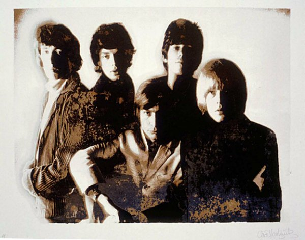 The Rolling Stones, Masons Yard by Gered Mankowitz at RedHouse Originals Gallery