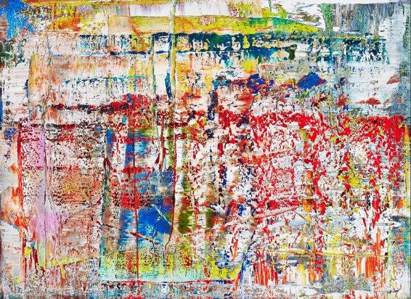Abstraktes Bild (p1) by Gerhard Richter at