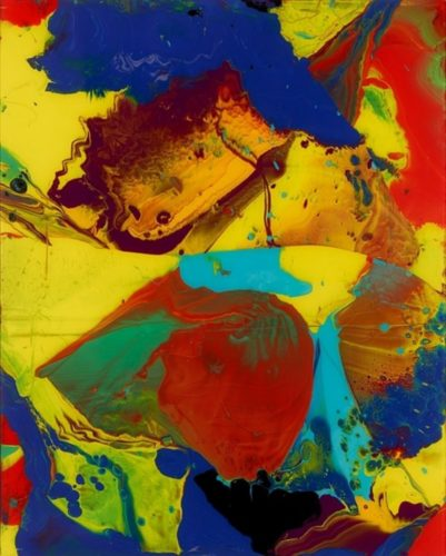 Bagdad (Flow P10) by Gerhard Richter