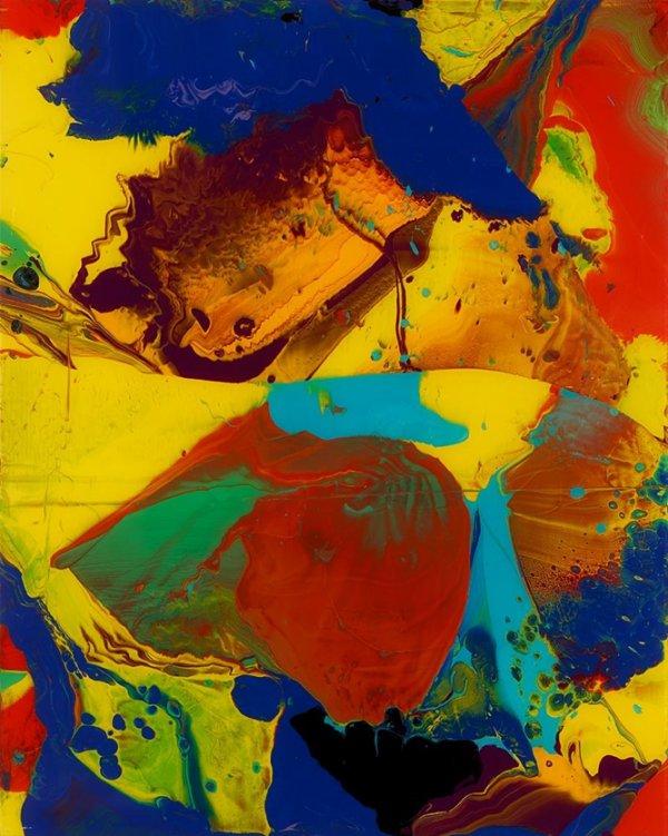 Bagdad Ii (p10) by Gerhard Richter