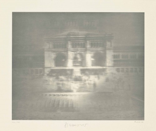 Bahnhof (hannover) by Gerhard Richter at