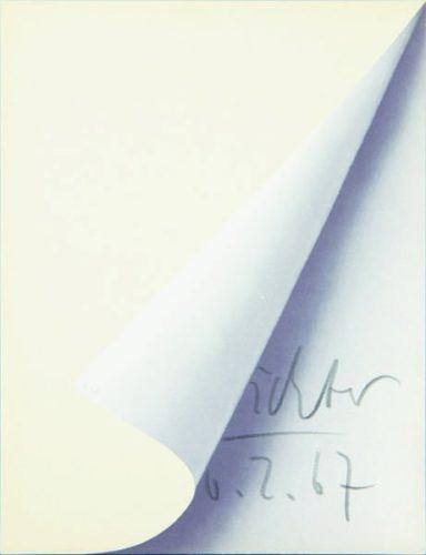 Blattecke (cantz 11) by Gerhard Richter at Frank Fluegel Gallery