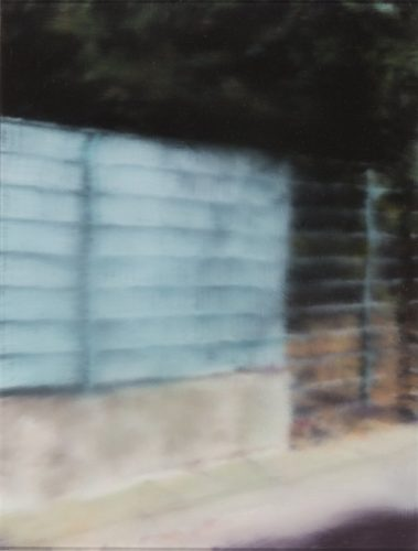 Fence (p13) by Gerhard Richter at