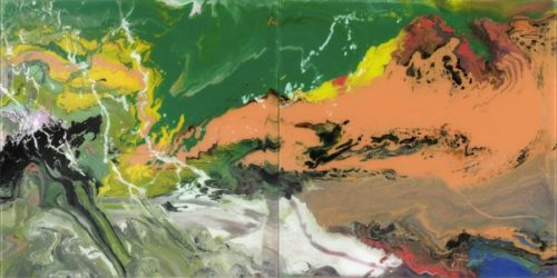 Flow (p15) by Gerhard Richter at Lougher Contemporary