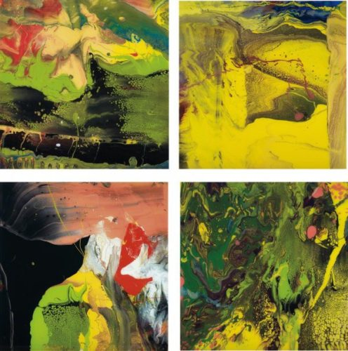 P4, P5, P6 & P7 (set Of Four Flow Prints) by Gerhard Richter at Lougher Contemporary