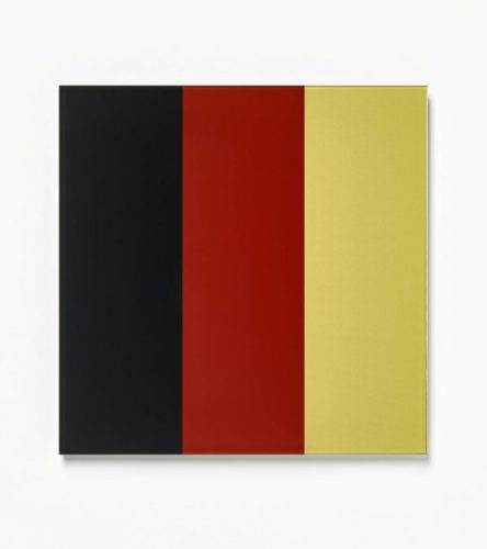 Schwarz-red-gold Iv by Gerhard Richter