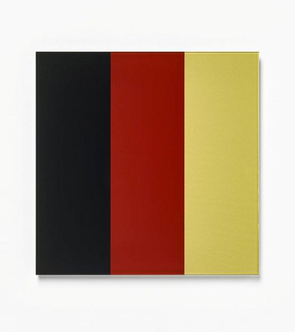 Schwarz-red-gold Iv by Gerhard Richter