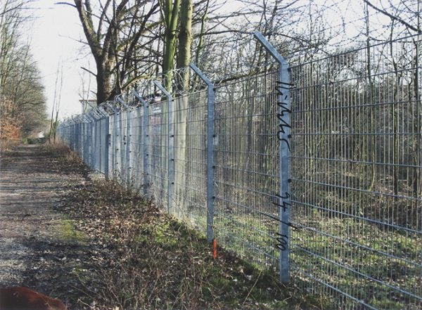 Zaun – Fence by Gerhard Richter