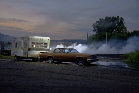 Production Still (edie In The Trailer 06) by Gregory Crewdson at