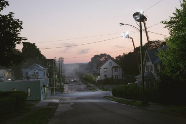Production Still (the Madison 01) – Beneath The Roses by Gregory Crewdson