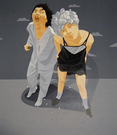 Chambre Avec Nuage by Guo Wei