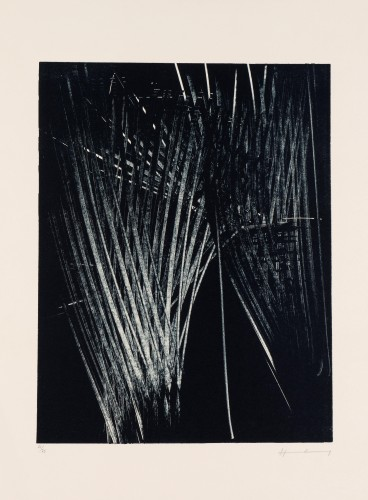 Without Title by Hans Hartung