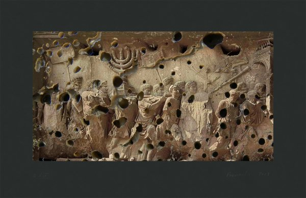 Arch Of Titus by Heide Fasnacht at
