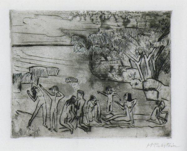 Am Ufer by Max Pechstein
