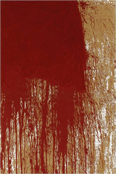 Levitikus (1) by Hermann Nitsch