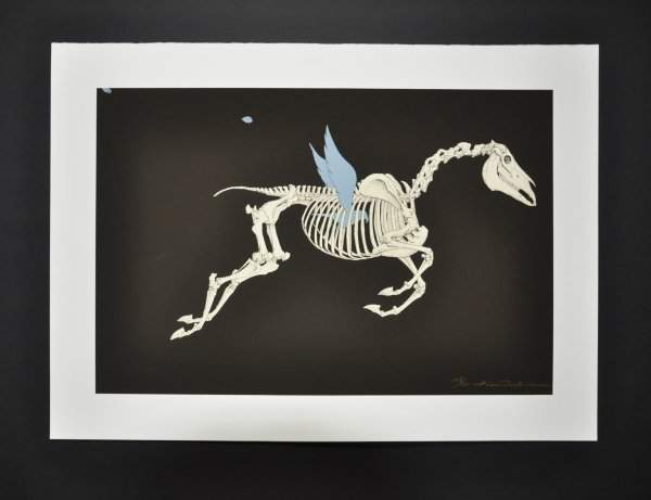 Altamira – Horse by Hideo Takeda at Hanga Ten - Contemporary Japanese Prints