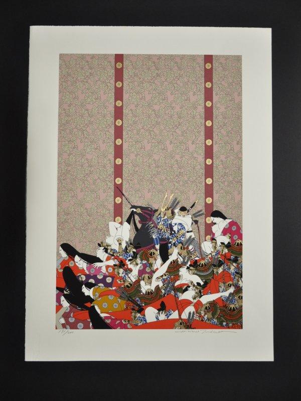 Genpei No. 10 – Yoshinaka Kiso Enters Kyoto by Hideo Takeda