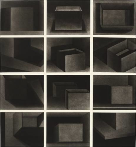 Twelve Boxes by Holly Downing