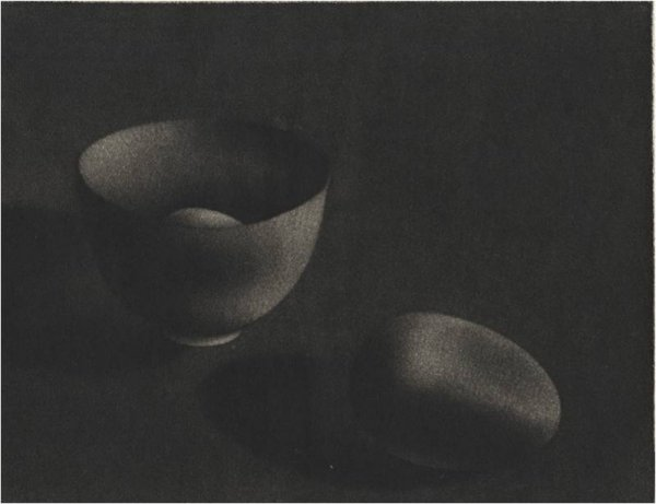 Two Eggs And Bowl I by Holly Downing