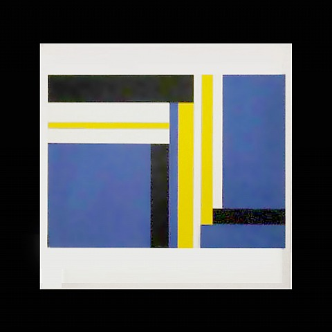 Untitled (blue) by Ilya Bolotowsky