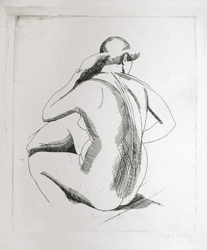Isabel Bishop. Eight Etchings, 1925-1931. by Isabel Bishop