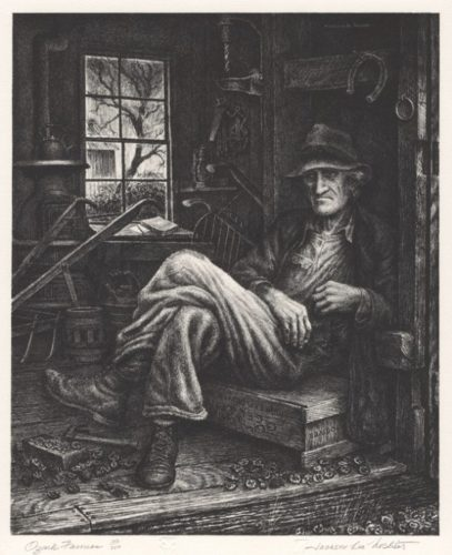Ozark Farmer by Jackson Lee Nesbitt at
