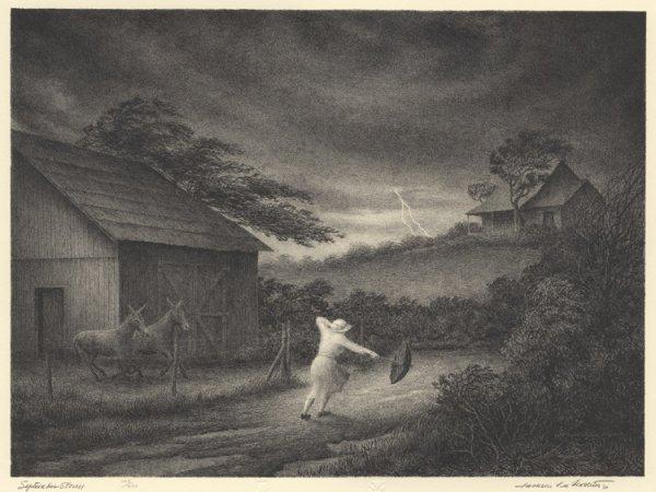 September Storm by Jackson Lee Nesbitt at