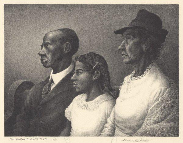 The Mathew W. Johnston Family by Jackson Lee Nesbitt at