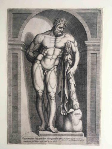 Farnese Hercules by Jacob Bos at