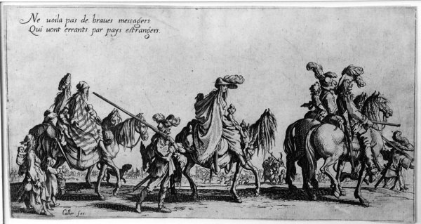 The Bohemians by Jacques Callot