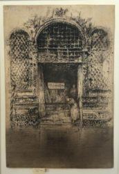 The Doorway by James Abbott McNeill Whistler at Harris Schrank Fine Prints (IFPDA)