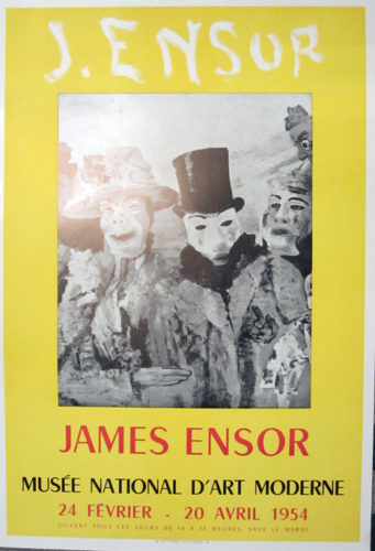 Musee Natonal D'art Moderne by James Ensor at