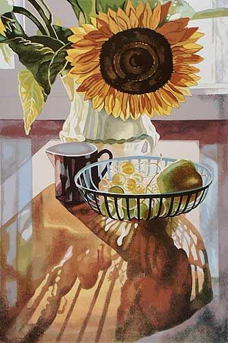 Sunflower by Jane E. Goldman