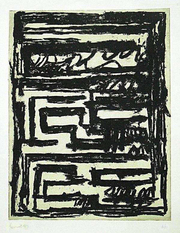 The Minotaur (2) by Jannis Kounellis