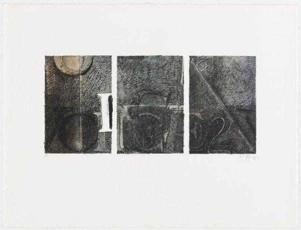 Voice 2 by Jasper Johns