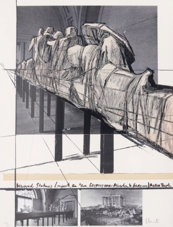 Wrapped Statues – Der Glyptothek by Christo at