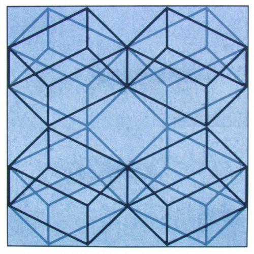 Square Cube X4 by Jay Shinn