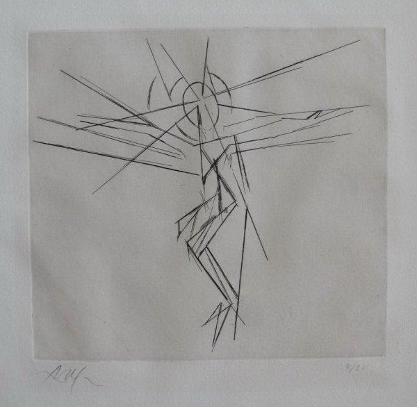 Christen Croix I by Jean Arp