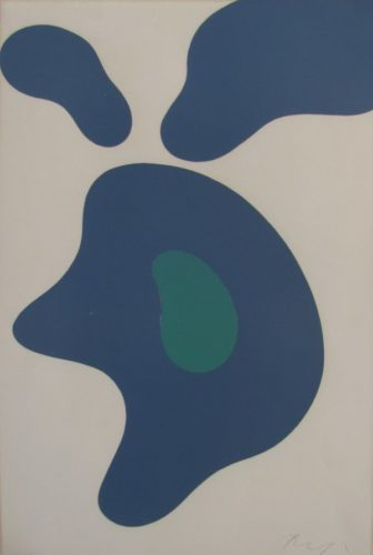 Constellation by Jean Arp at